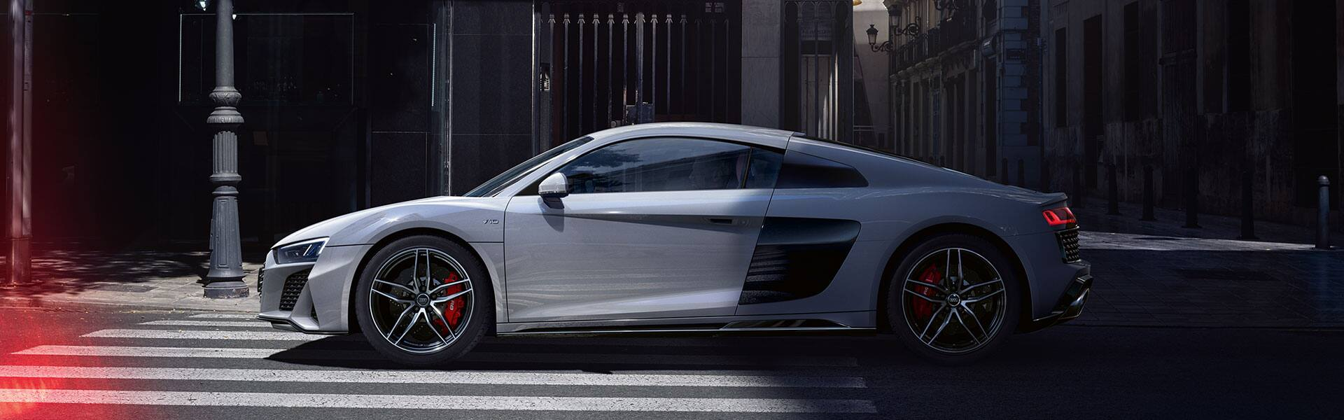 The new Audi R8 Coupé V10 quattro