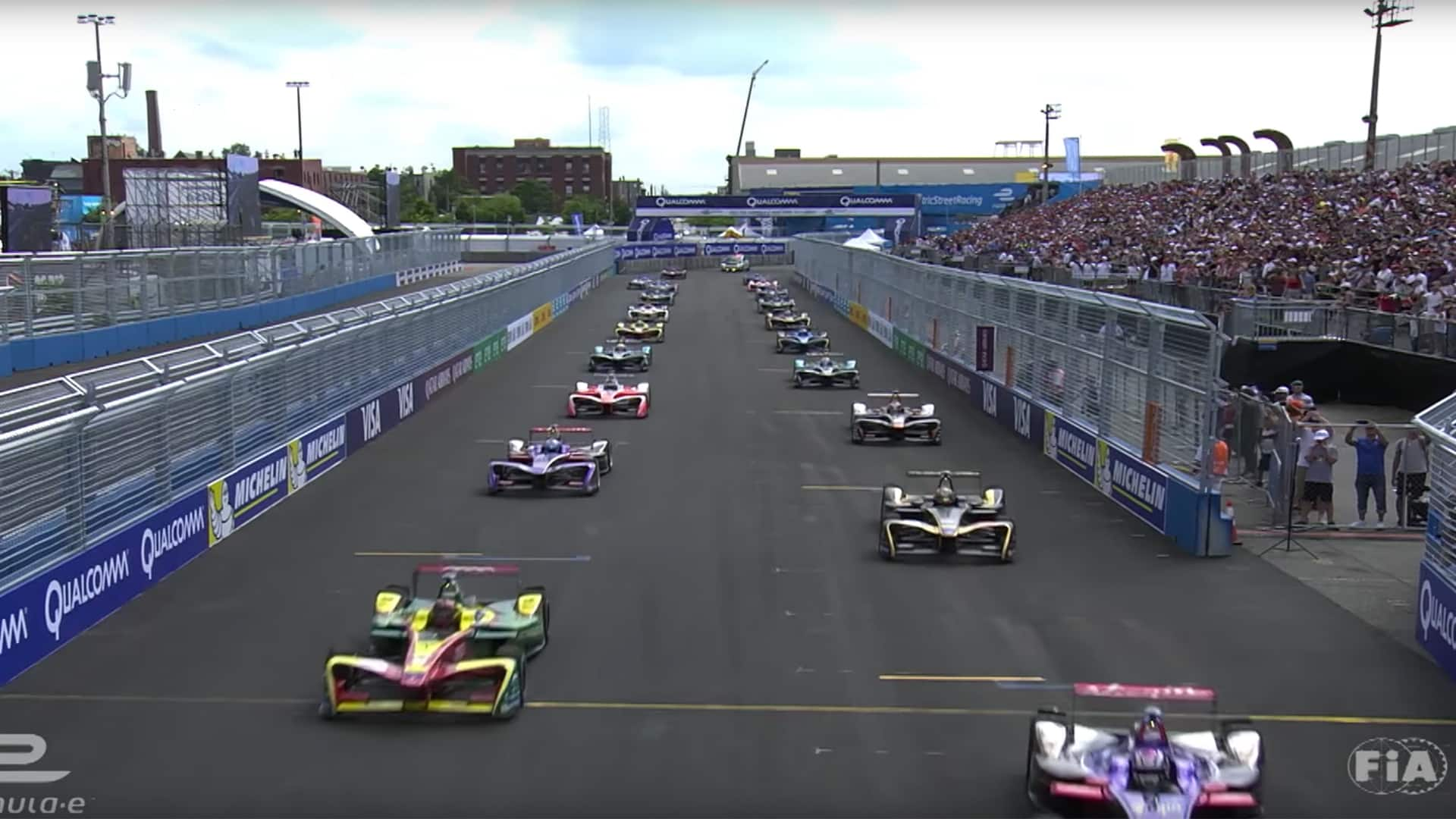 Audi Formula E Highlights