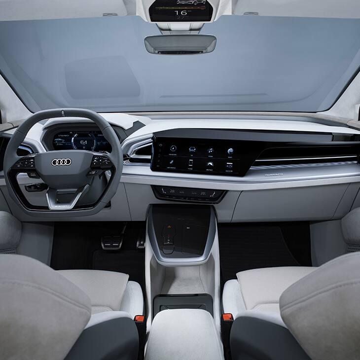 Compacte Et Sportive : L'Audi Q4 Sportback E-tron Concept