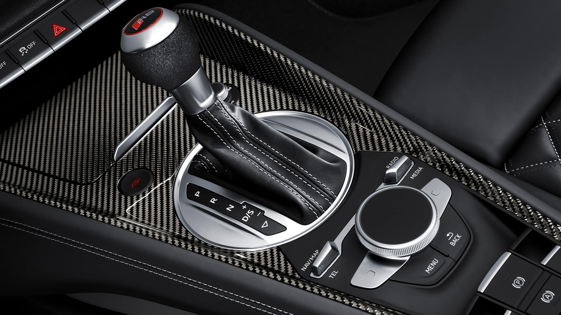 Middenconsole Audi TT RS Coupé